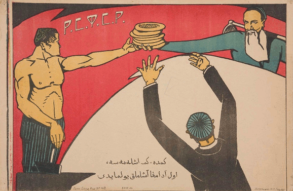 Soviet Propaganda: Who doesn't work doesn't eat